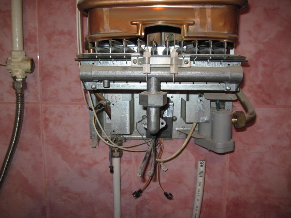 Отремонтировать газовую колонку нева