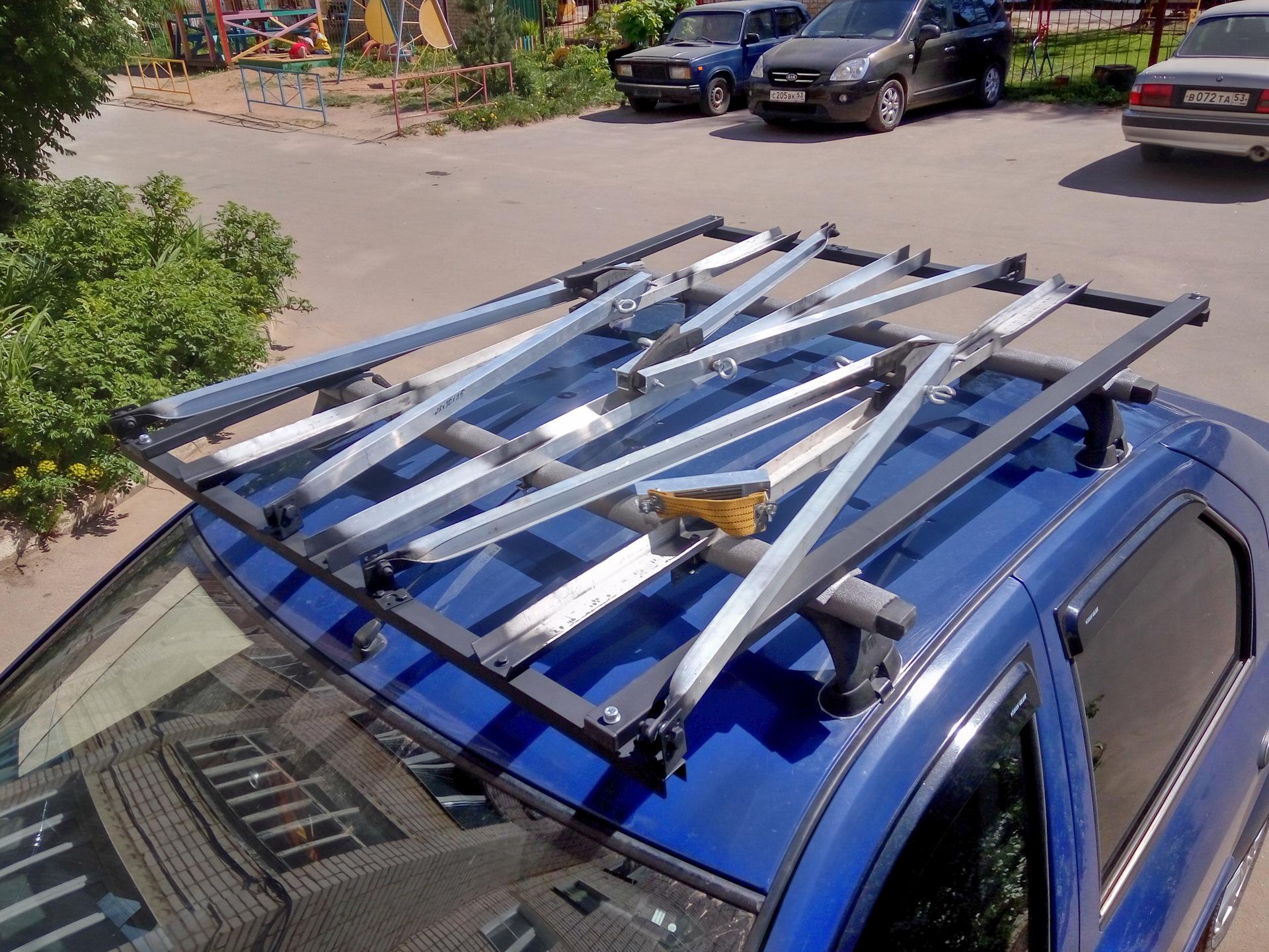 Автобагажник своими руками на крышу фото 597