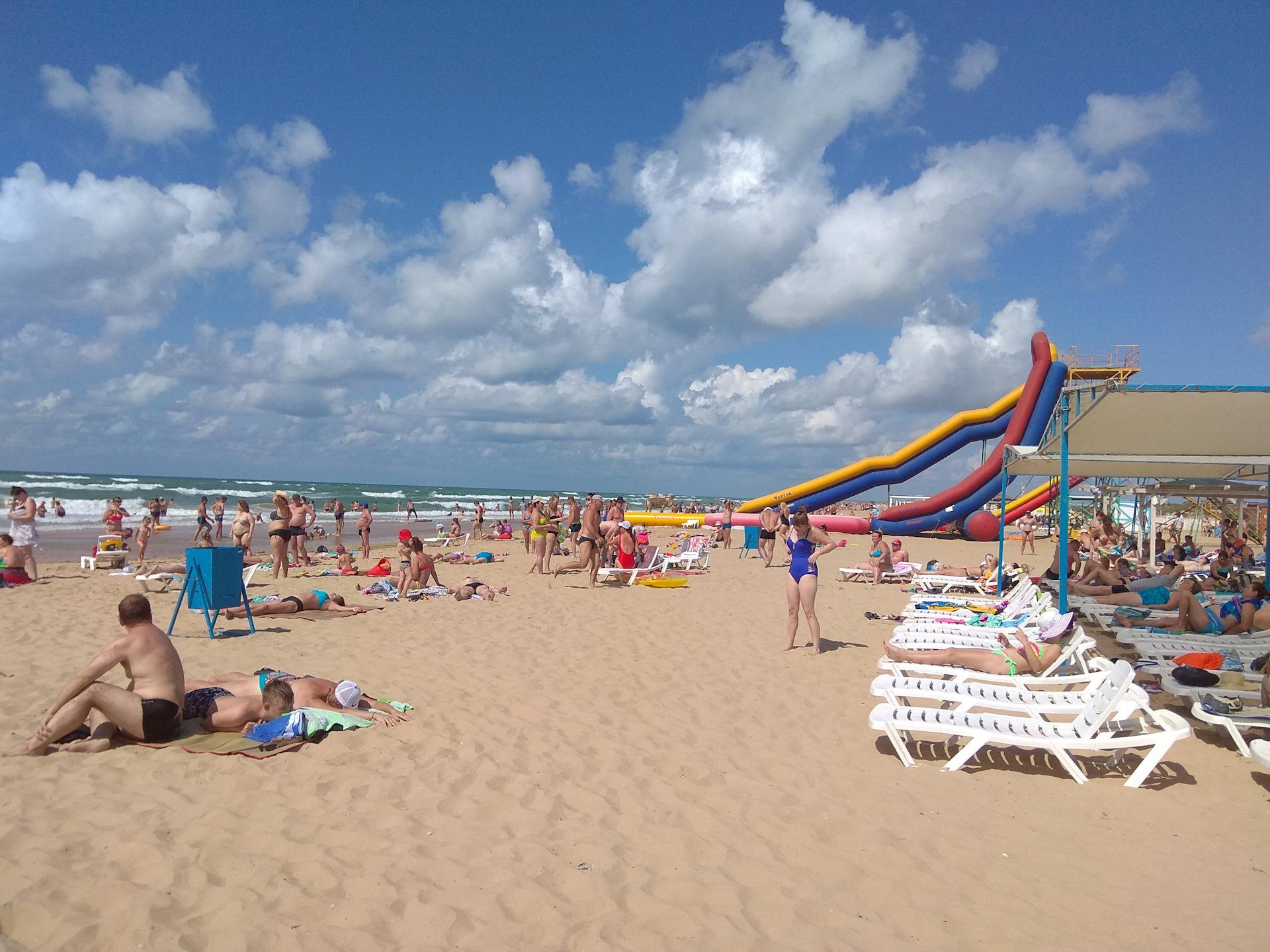 Фото пляжей витязево 2018 год