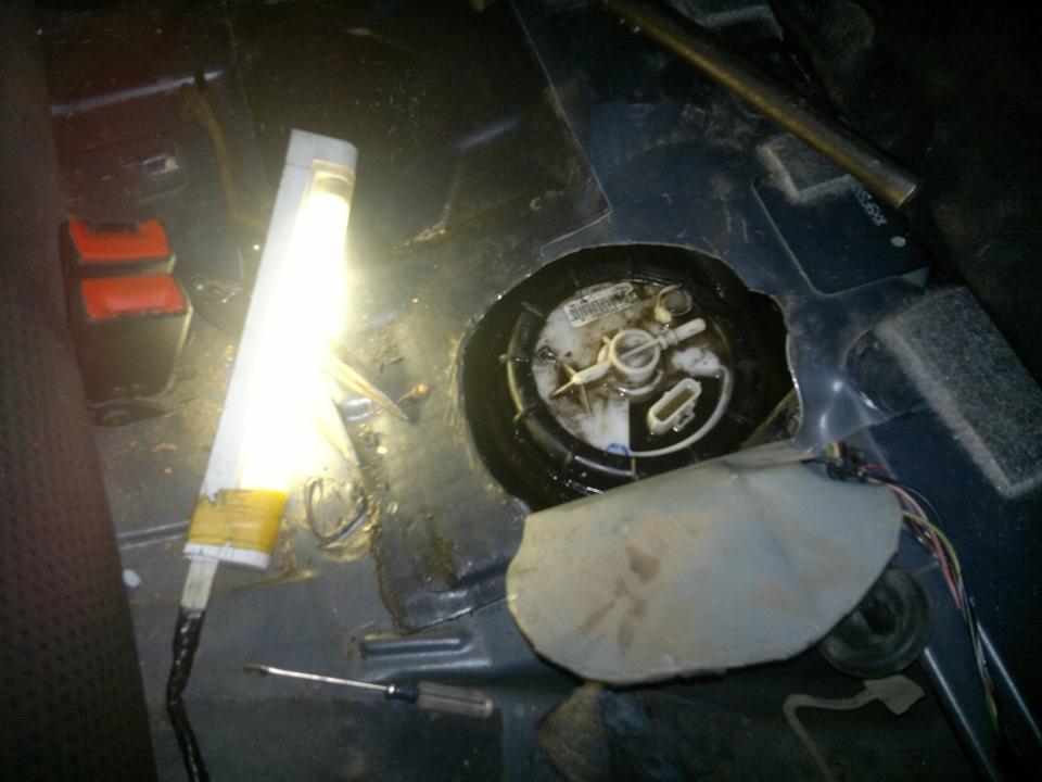 Замена бензонасоса форд фокус 2