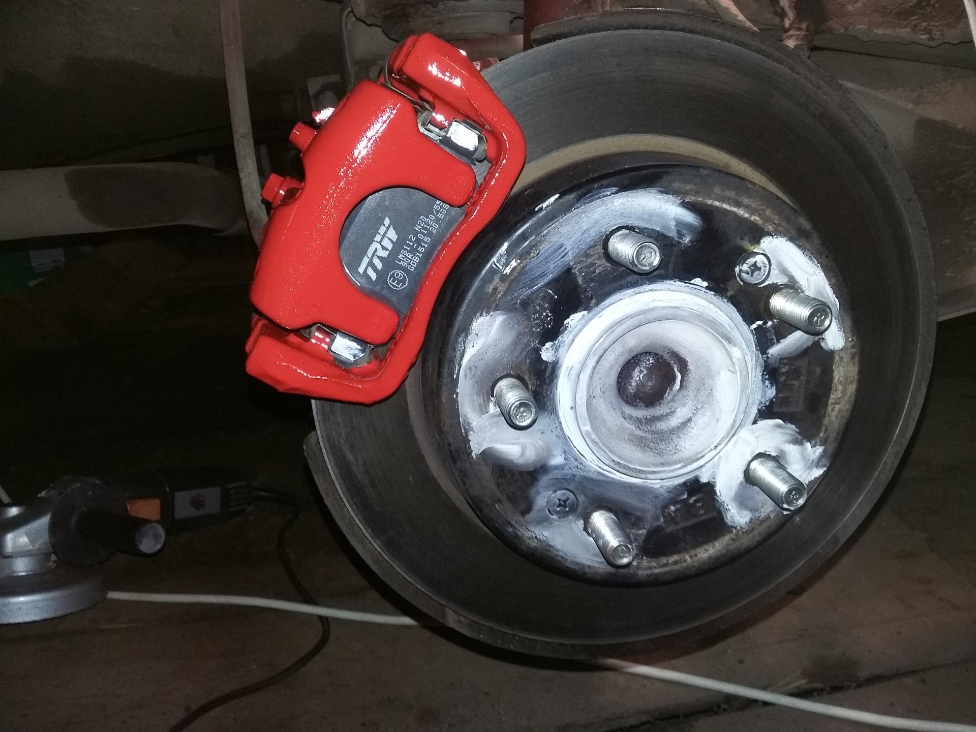 Замена переднего тормозного цилиндра kia ceed jd Замена двери e39