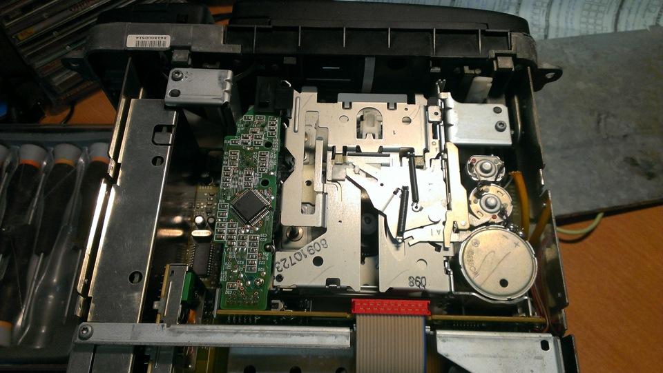 220 мерседес установка команд 2.5 вместо кассетника