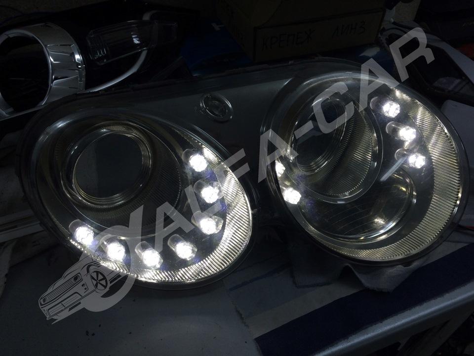 замена лампы габаритов на бентли