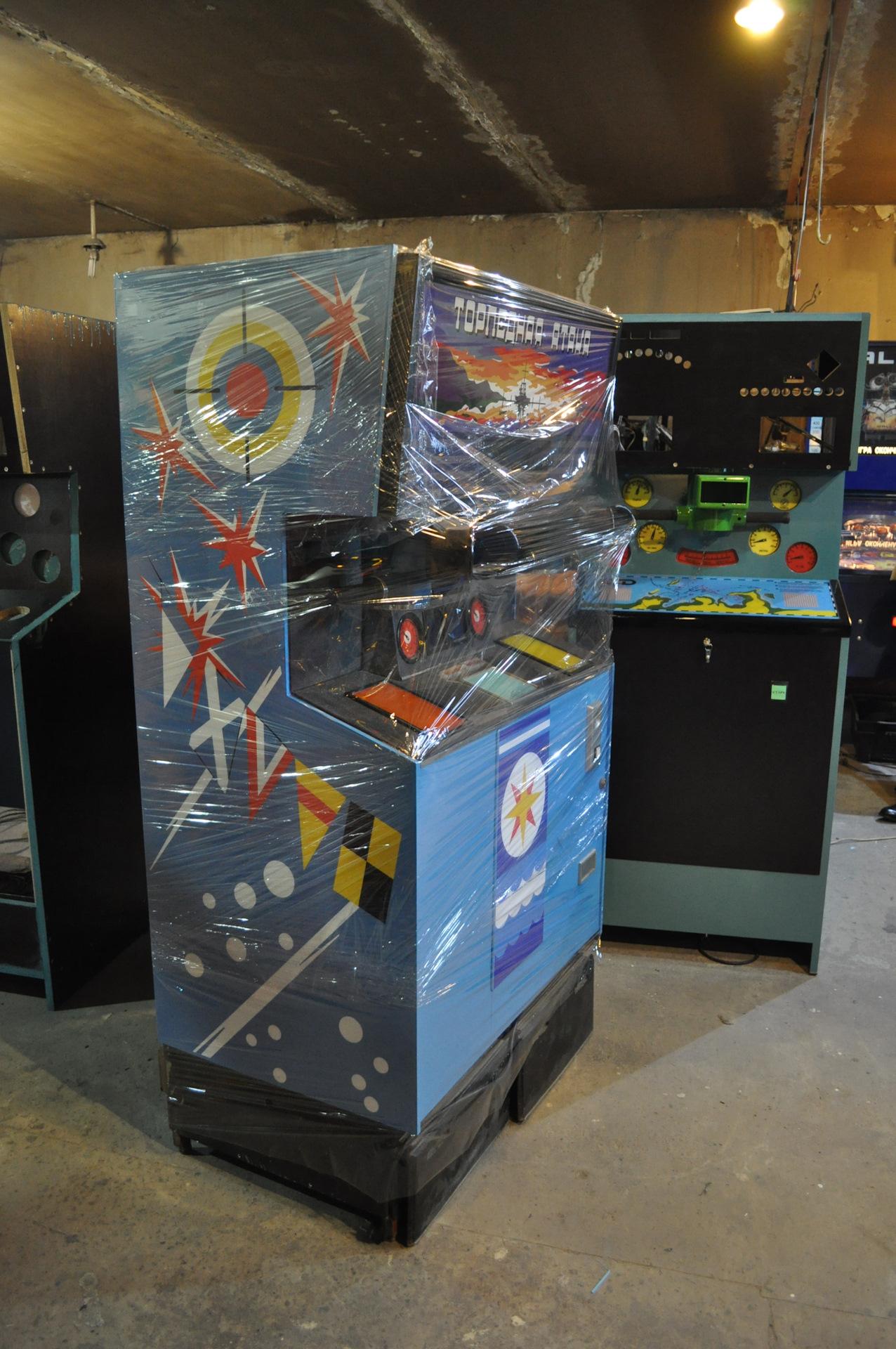 Игровой автомат торпедная атака