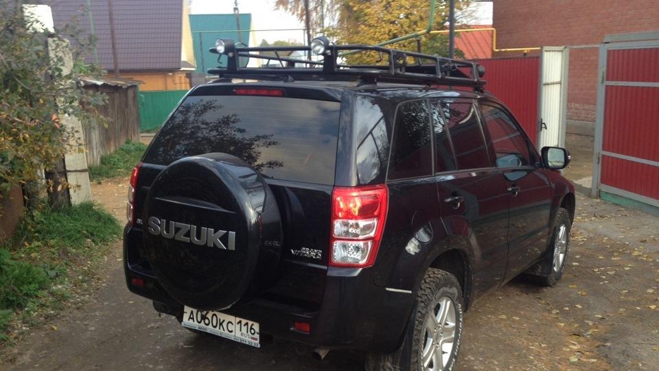 Багажник на крышу Сузуки Гранд Витара купить в Санкт
