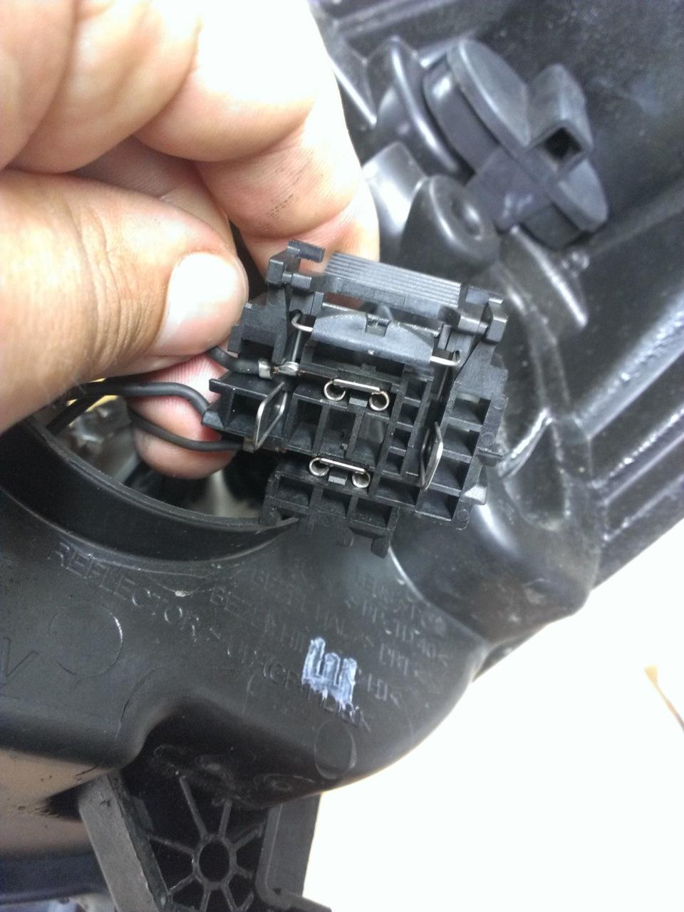 Установка ксенона на форд фокус 3 своими руками 17