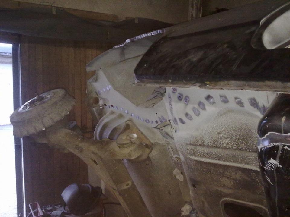 47ea318s 960 - Лонжерон ваз 2109 - ремонт, замена