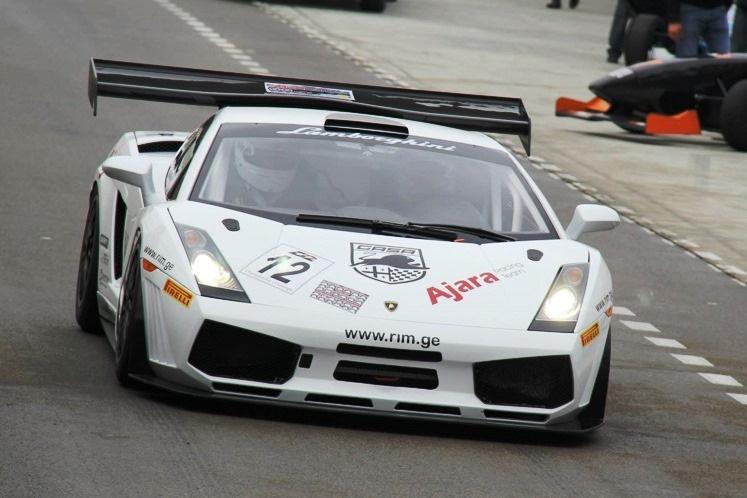 Lambo Gallardo GT3 Шоты Абхазавы