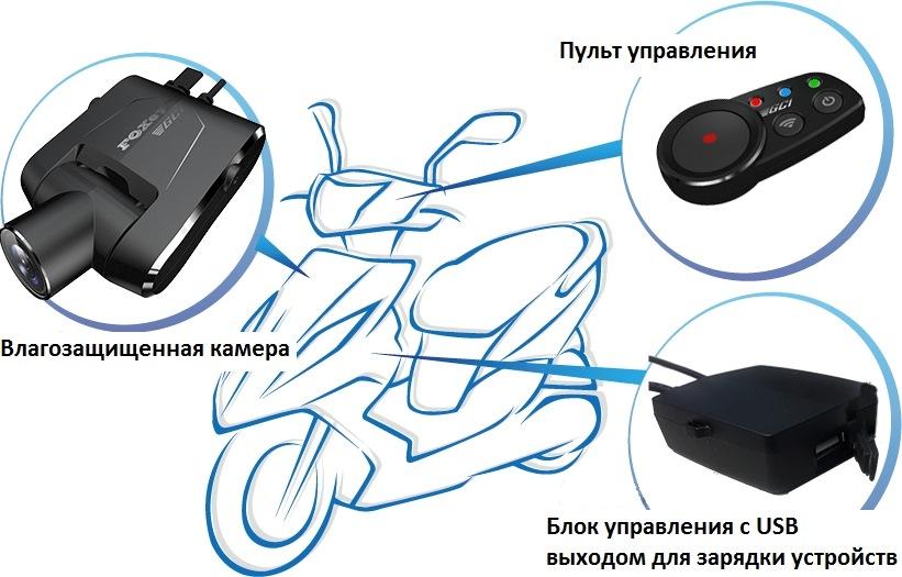 Видеорегистратор на скутер купить