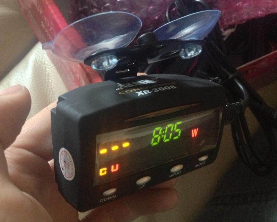 Антирадар Conqueror GPS XR3008