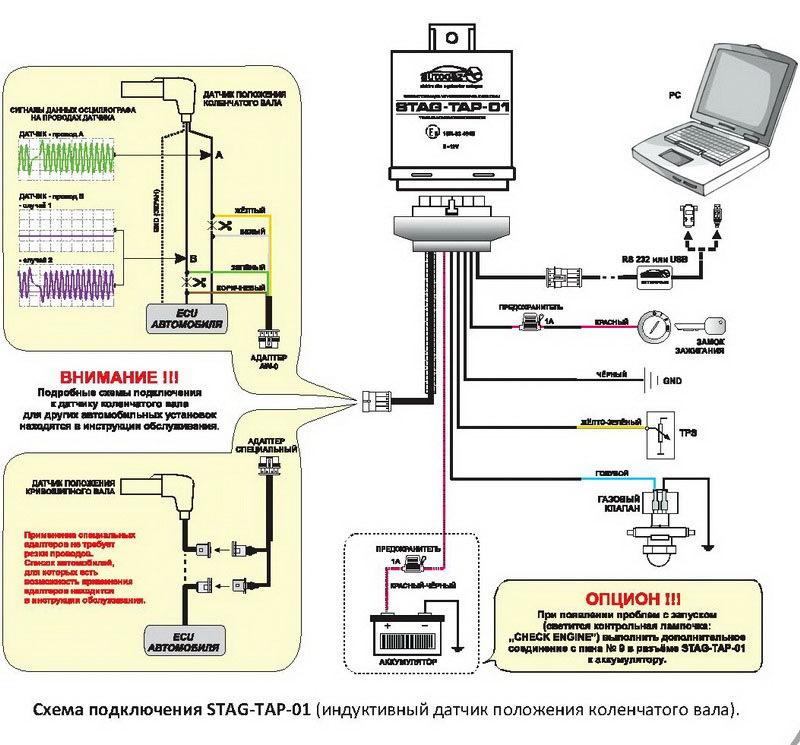 Схема подключения вариатора
