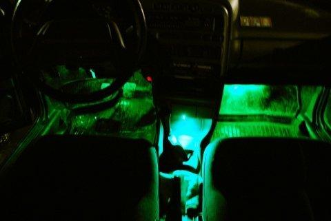 Подсветка ног ваз видео