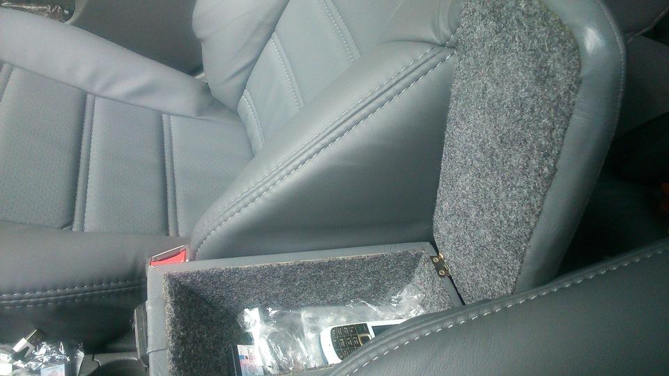 Подлокотник своими руками - бортжурнал KIA Spectra красный перец 07 2007 года на DRIVE2