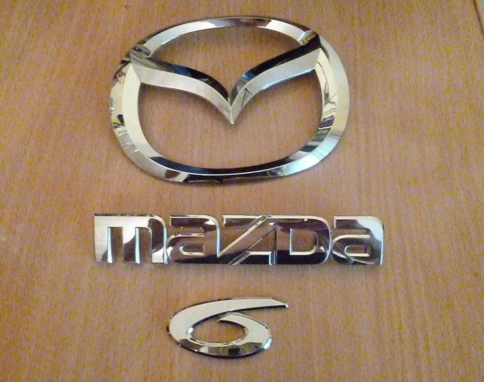 логотип mazda 6