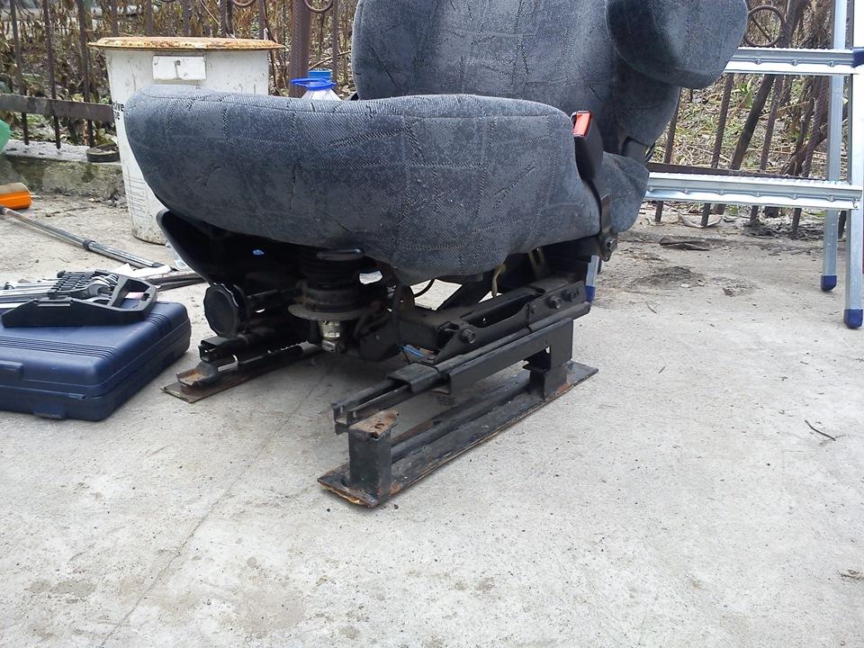 взаимозаменяемость сидений фольксваген транспортер