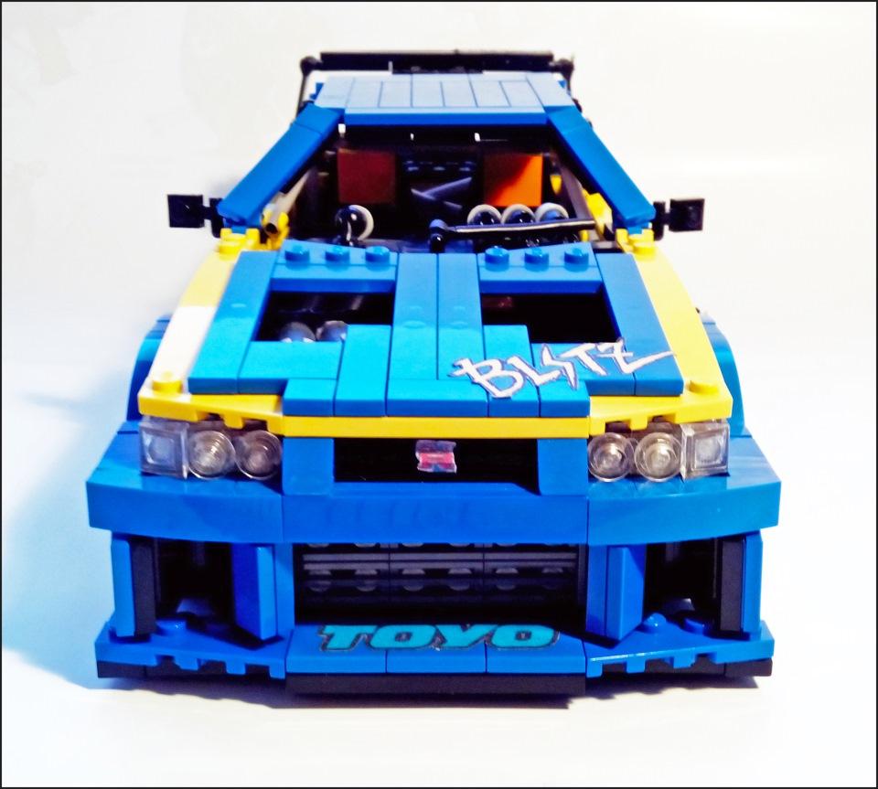 Nissan Skyline из Lego - DRIVE2