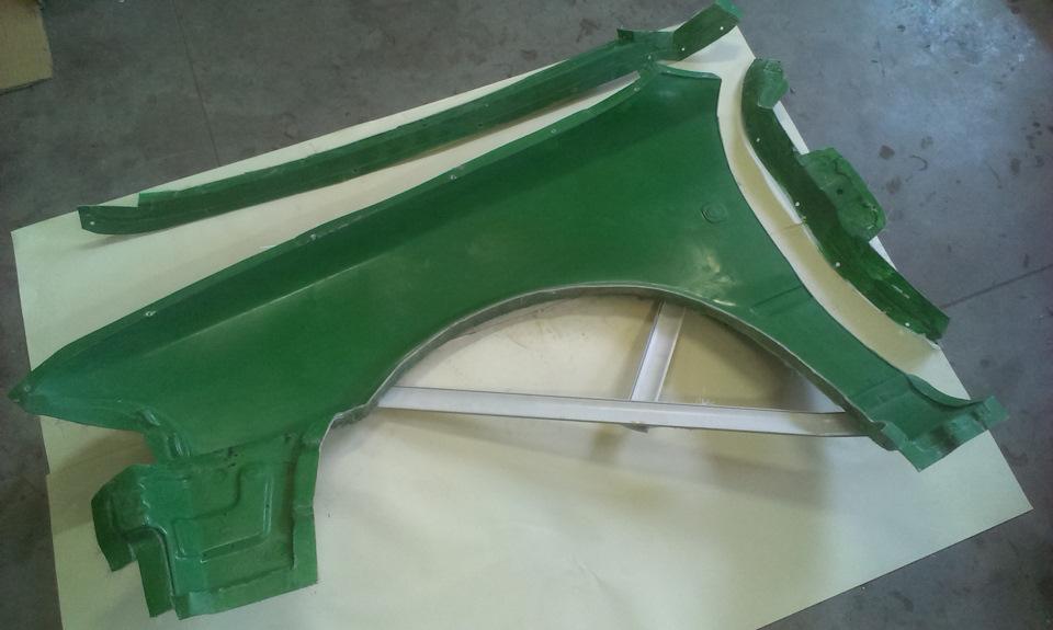Как сделать крылья из стеклопластика 117