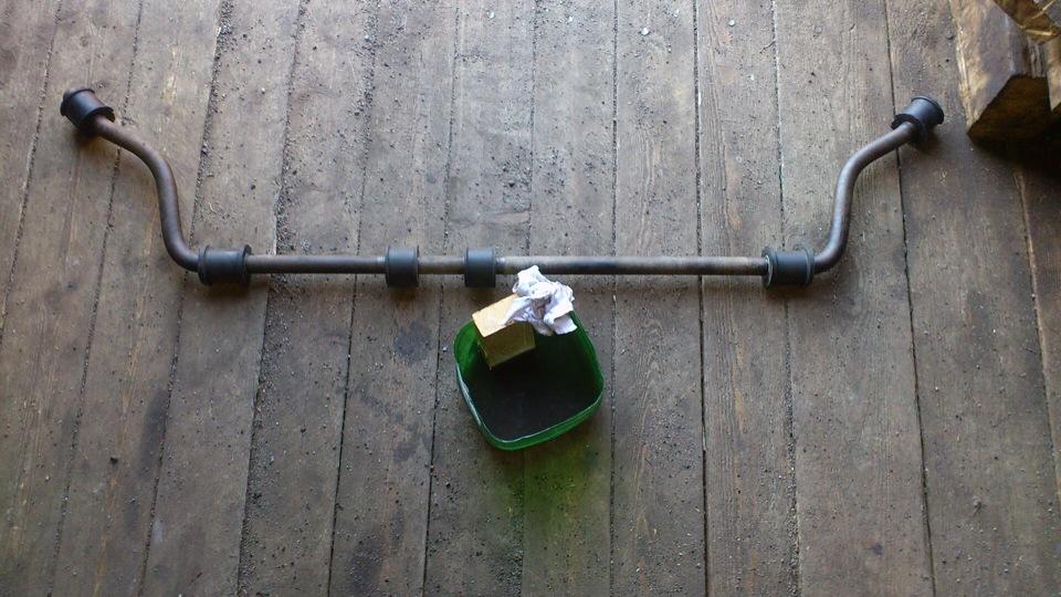 Замена втулок стабилизатора нива шевроле