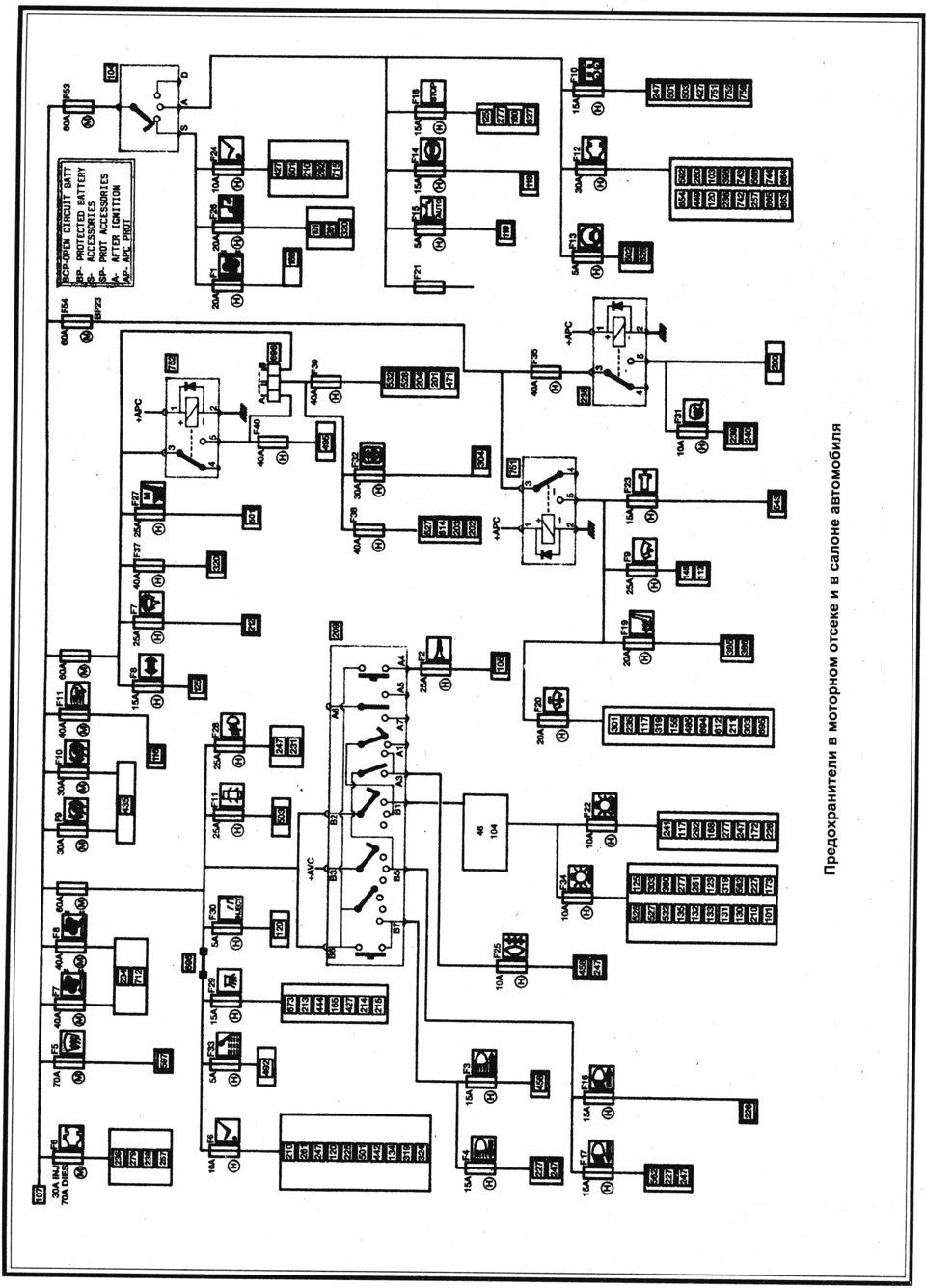 Электросхема рено лагуна 1 фото 852