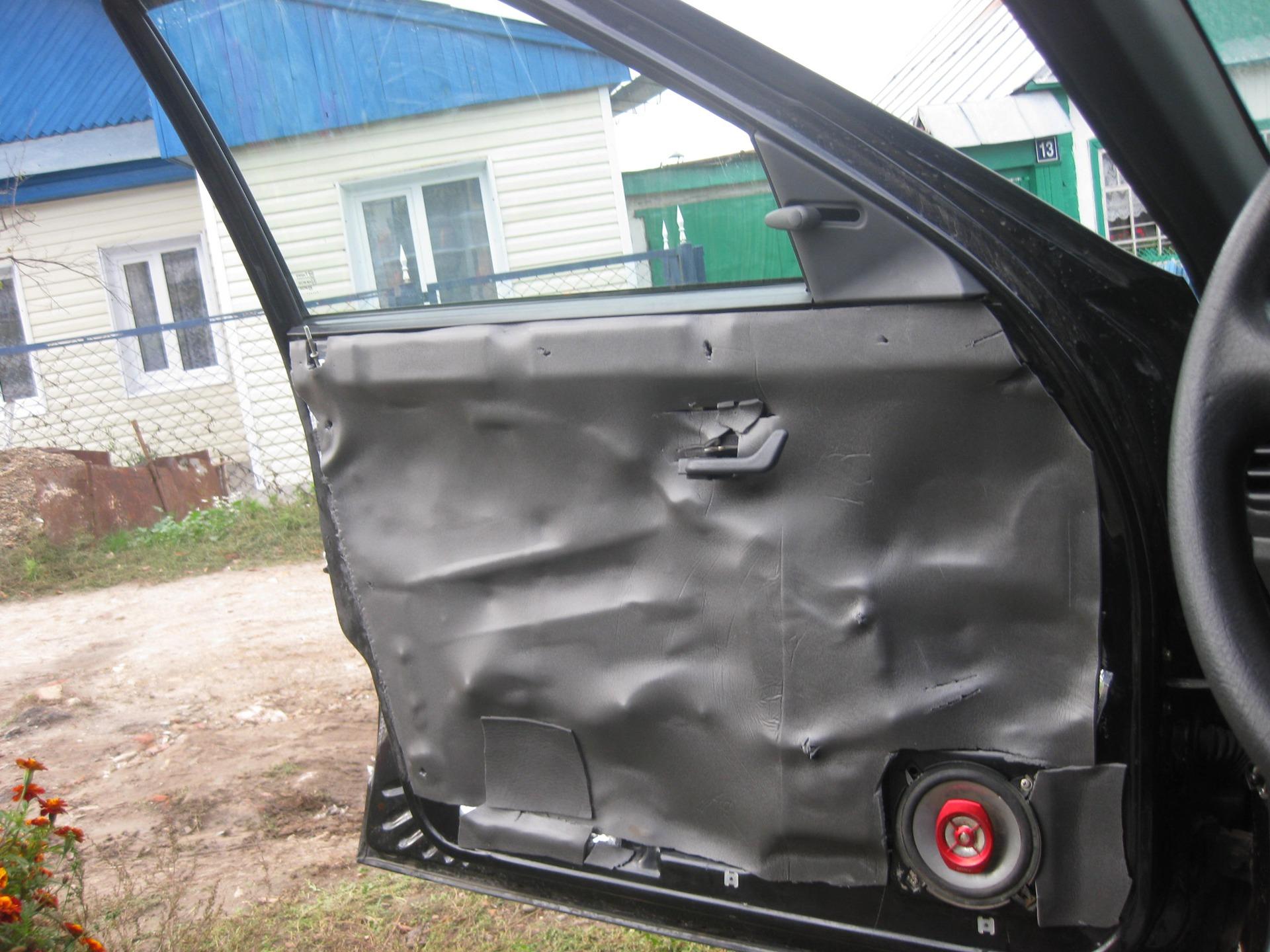 Фото №12 - ремонт дверей ВАЗ 2110 своими руками