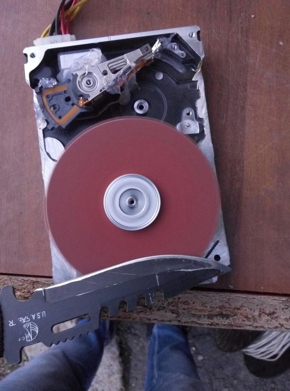 Как с жесткого диска сделать точило