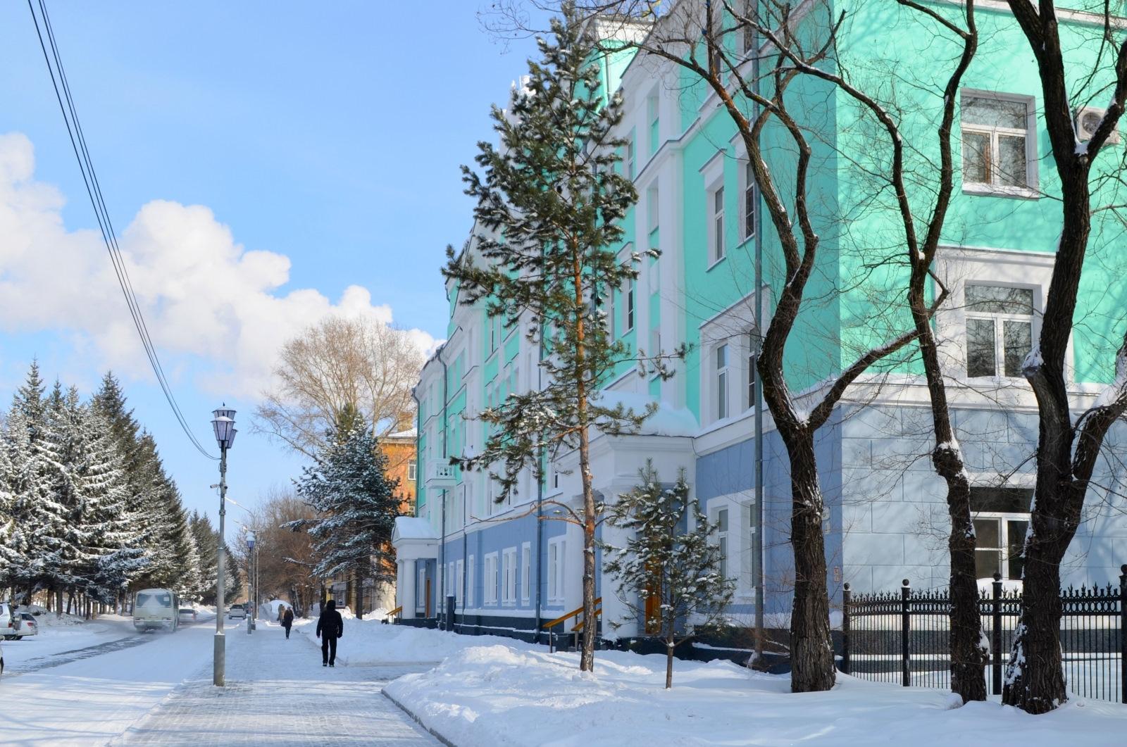 Картинки комсомольск на амуре зима