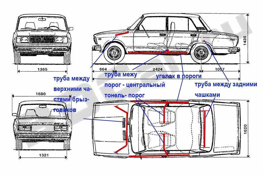 Усиление кузова авто своими руками