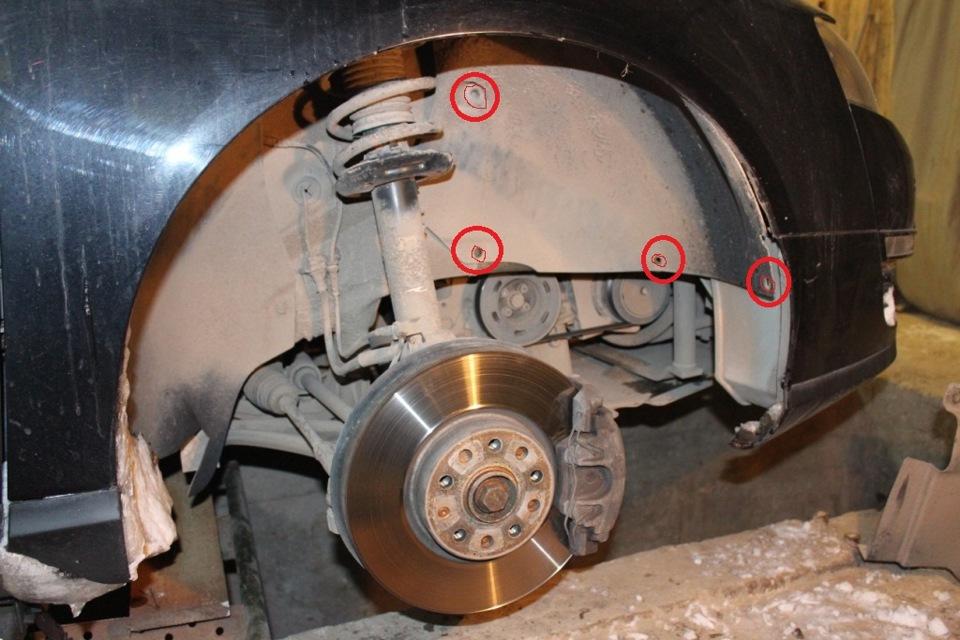 замена ремня привода помпы фольксваген пассат б6
