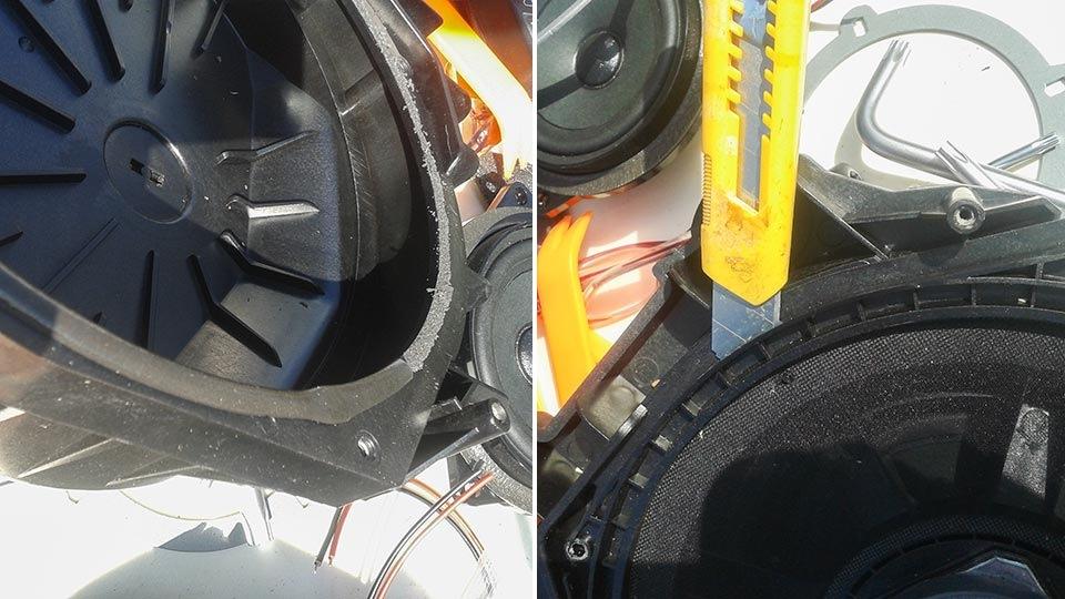 Замена акустики в bmw f10
