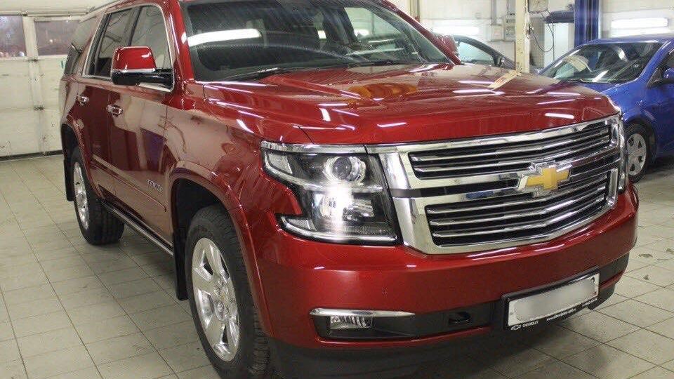 Chevrolet Tahoe Красная Красавица Drive2