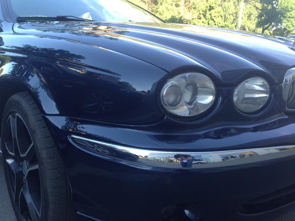 Замена лампы головной фары jaguar Замена шаровой тойота камри v40