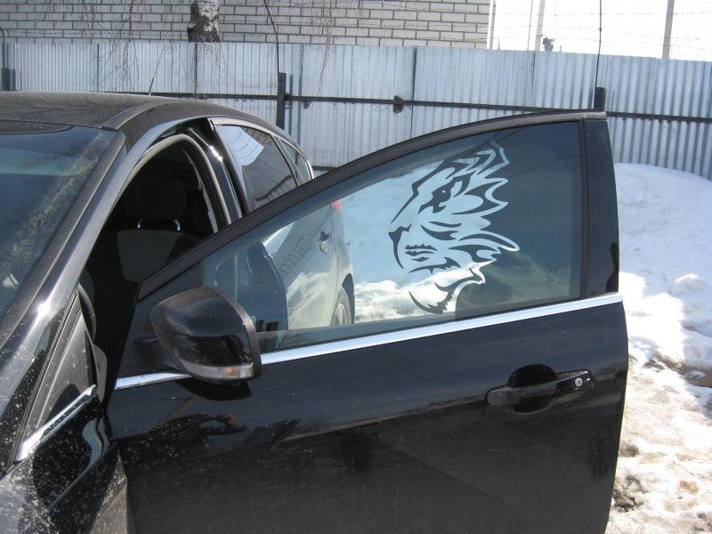 рисунки тонировки для машин