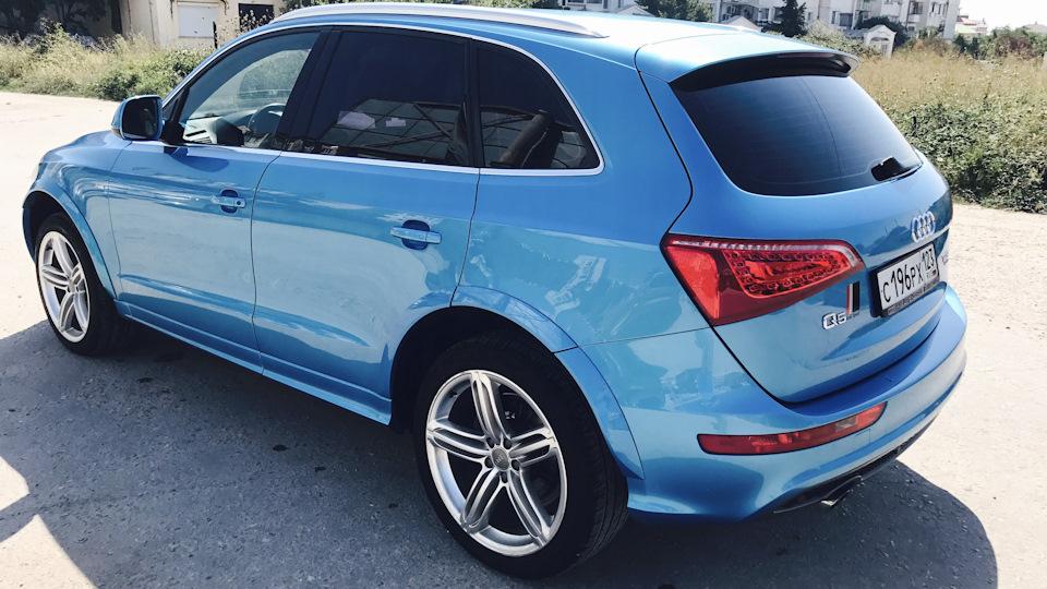 Audi Q5 Кукушка Морской Волны | DRIVE2
