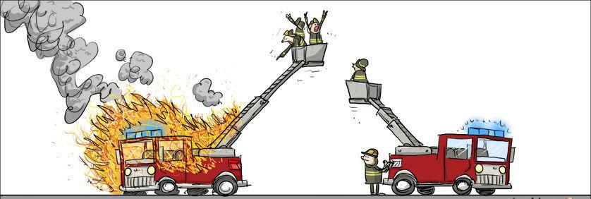 Лошадкой, смешные картинки о пожарной охране труда