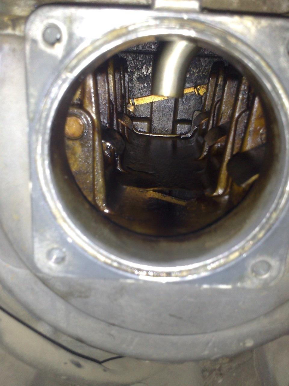 промывка клапана егр мерседес м112