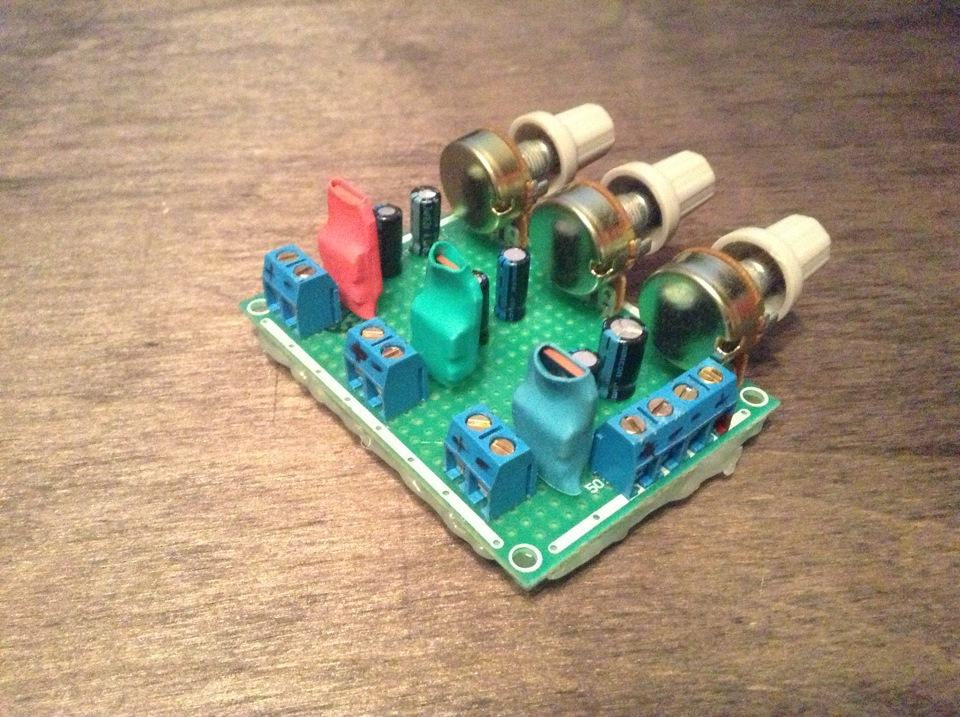 Готовый контроллер, пока без