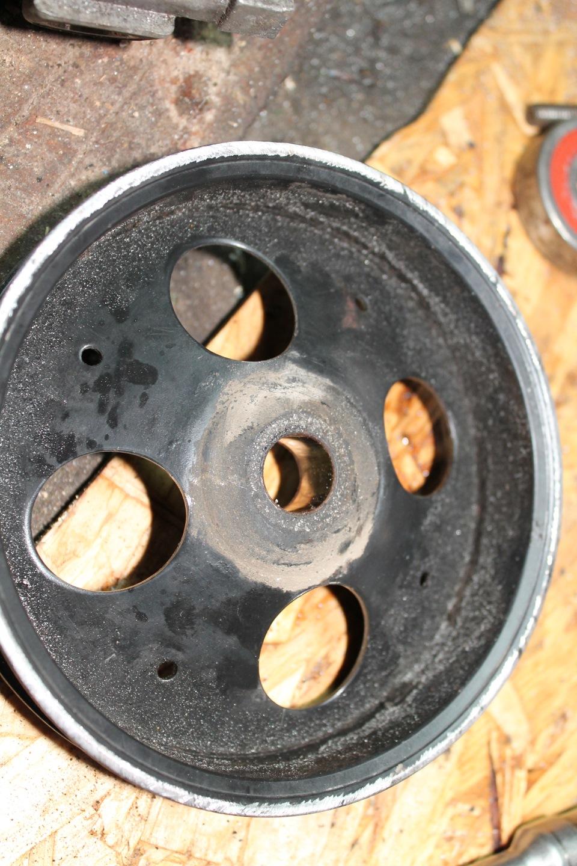 замена подшипника гидроусилителя руля на опель омега