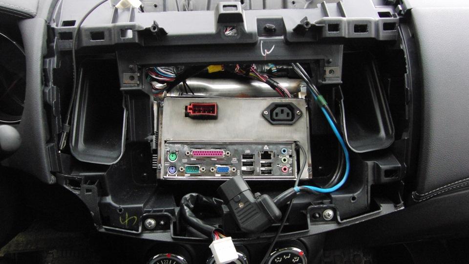 Car PC или автомобильный компьютер в Peugeot 4007, Citroen C