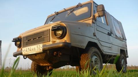 ЛуАЗ 969 Off-Road Retro.