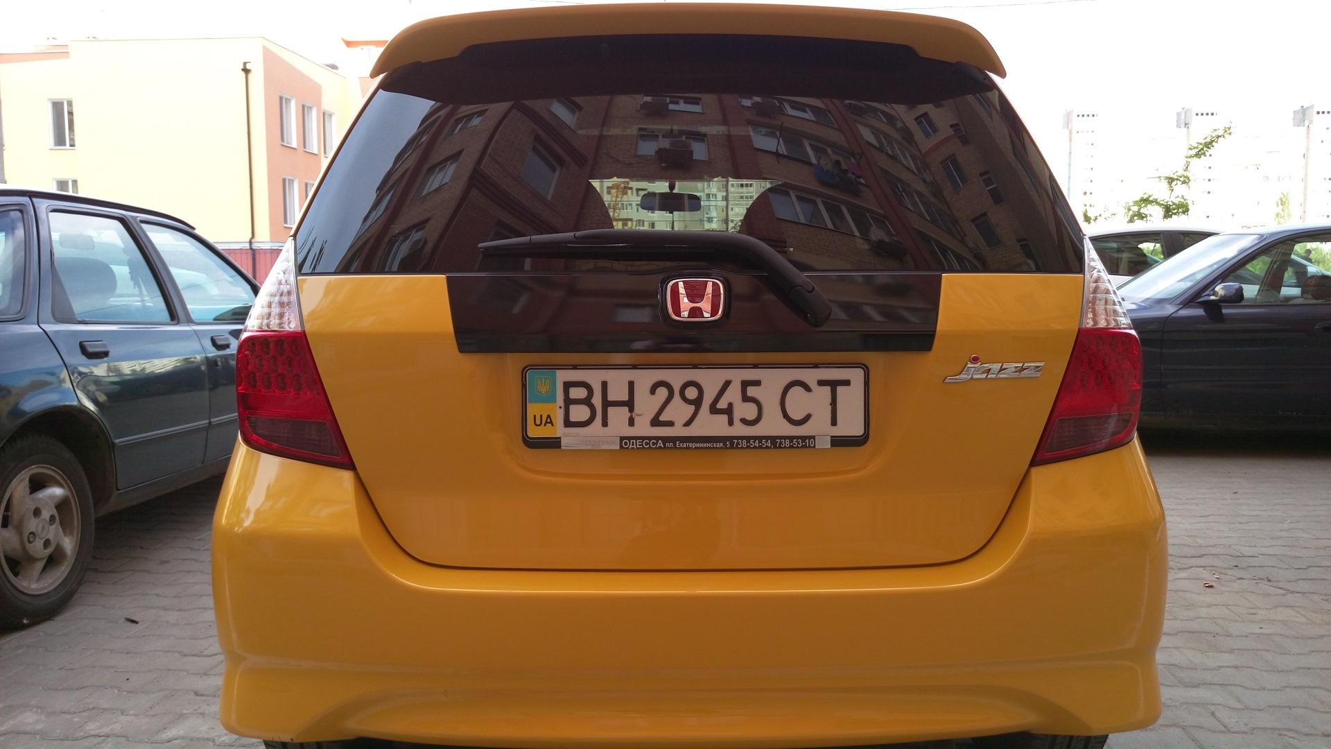 Mugenизация бортжурнал Honda Jazz желток 2008 года на Drive2