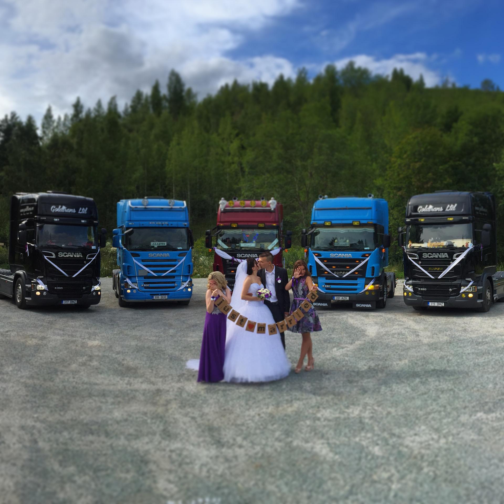 была свадьба дальнобойщика фото большого тенниса
