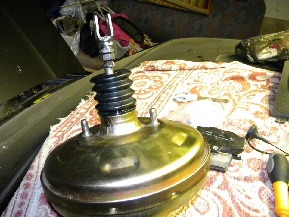 Фото №18 - вакуумный усилитель тормозов ВАЗ 2110 ремонт