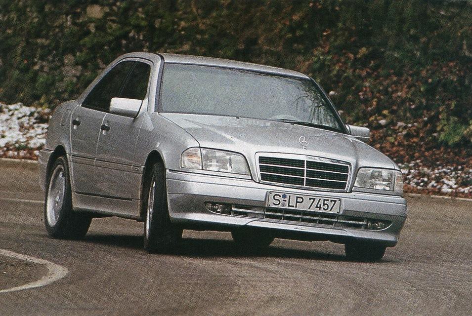 Mercedes-Benz C36 AMG. Скан из журнала