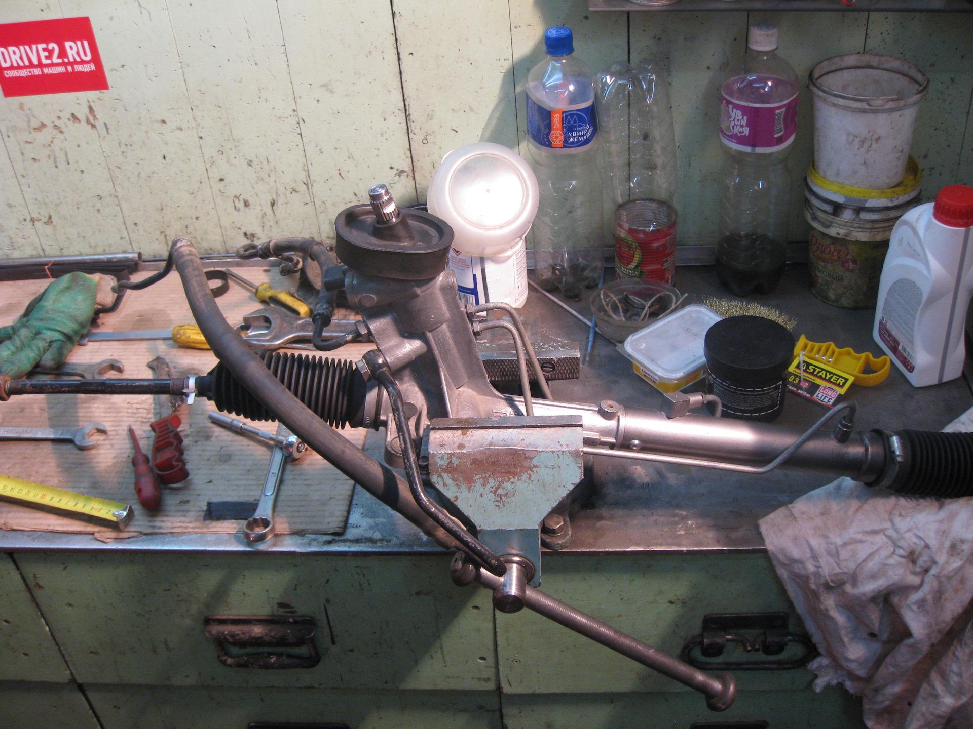 Ремонт рулевой рейки шкода фабия своими руками