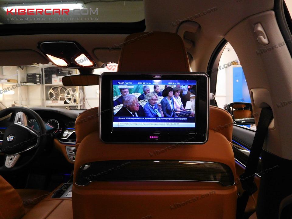 Опять же за счет 4G-Wi-Fi-роутера - десятки телеканалов к Вашему вниманию, как на скорости, так и в неподвижном положении автомобиля.