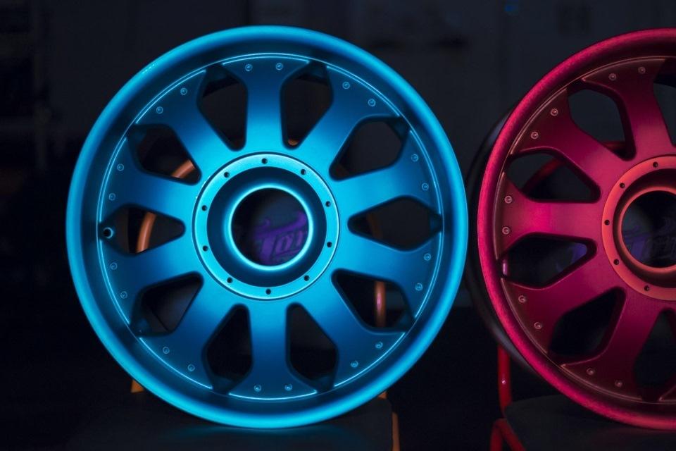 цвет красивая покраска дисков фото мире