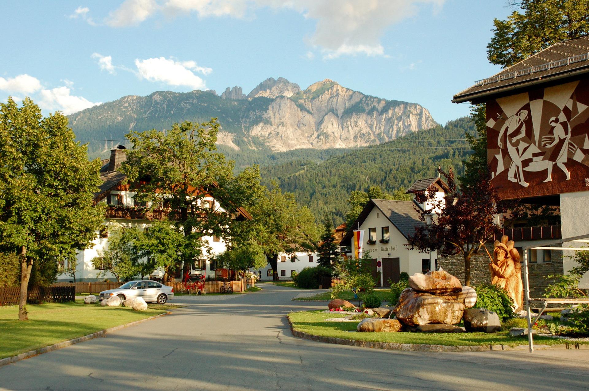 Картинки дома на набережной в австрии