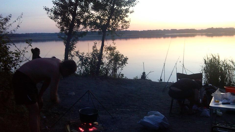 Бортжурнал › первая ночная рыбалка 2015