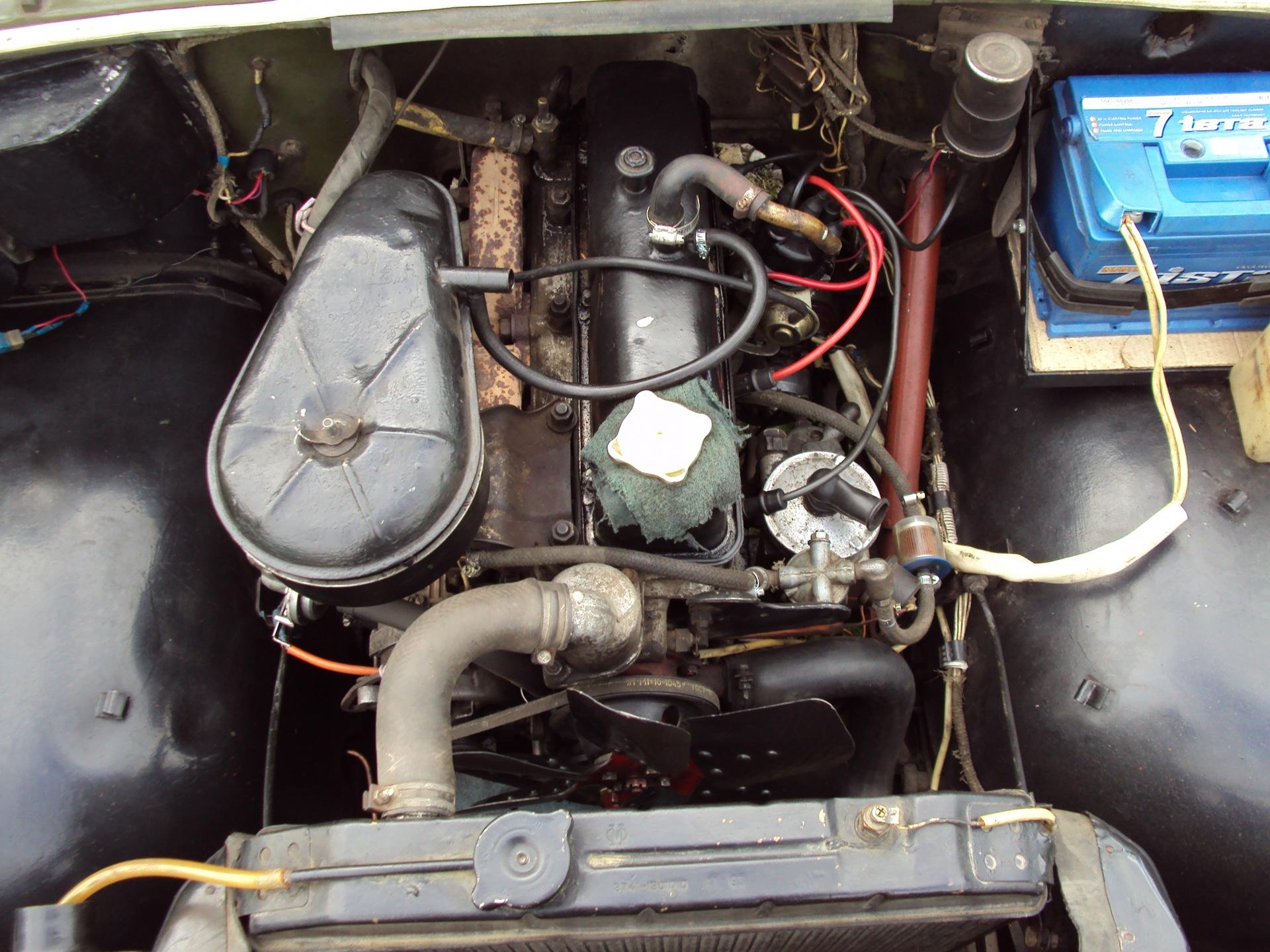 Установка 402 двигателя на уаз 469 30