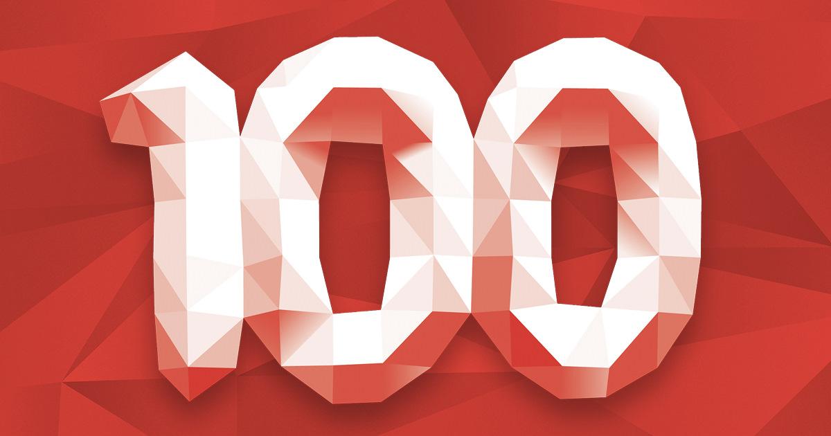 много, картинки с надписью ура нас 100 сегодня про них